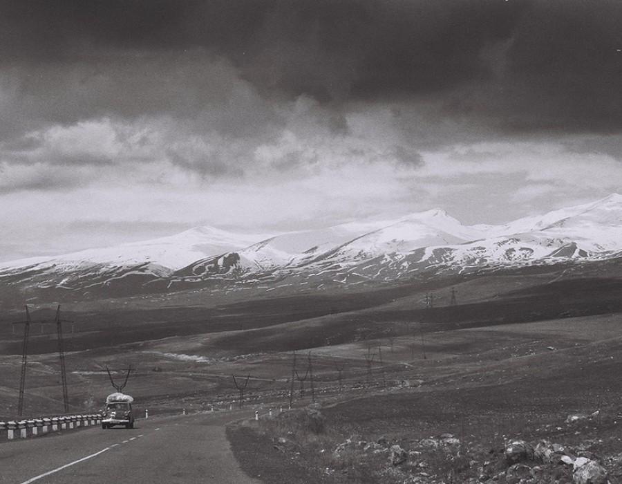 Aux environs de Martouni, Arménie, avril 2011