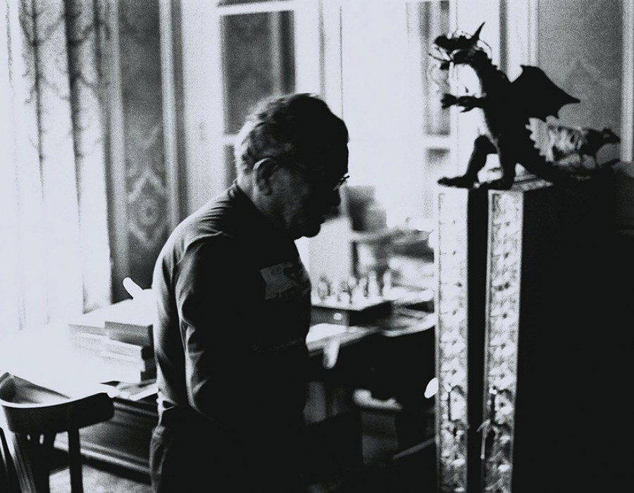 Fernando Arrabal, dramaturge, romancier & poète, Paris, juillet 2011