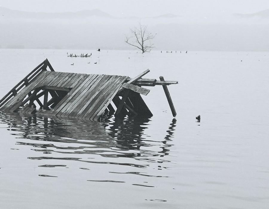 Lac Kerkini, Grèce, avril 2004