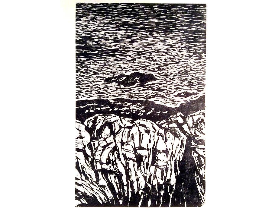 Crépuscule, paysage du littoral IV