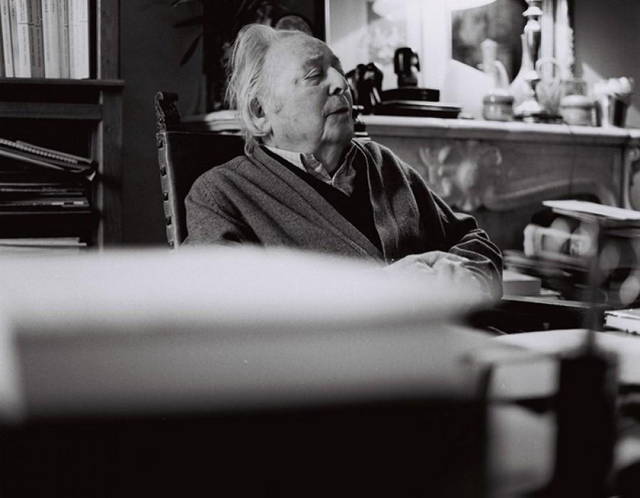 Marc Ferro, historien, St. Germain-en-Laye, janvier 2015