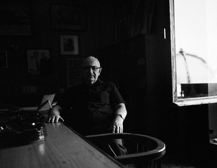 Eldar Shengelaïa, cineaste, Tblissi, avril 2012