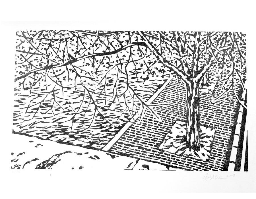 Paysage de bord de Seine V