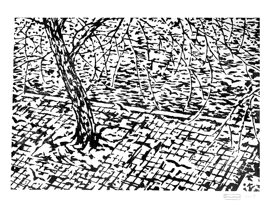 Paysage de bord de Seine VI
