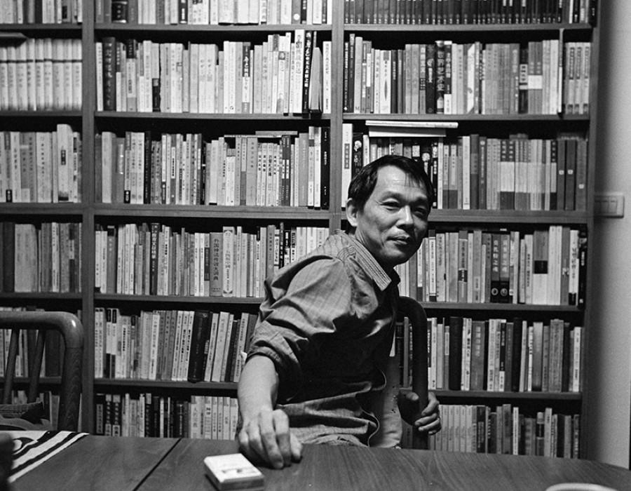 Tsai Yi-chun, romancier, Taipei, octobre 2012
